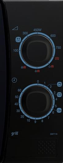 Cuptor cu microunde Samsung GW711K-B-butoane